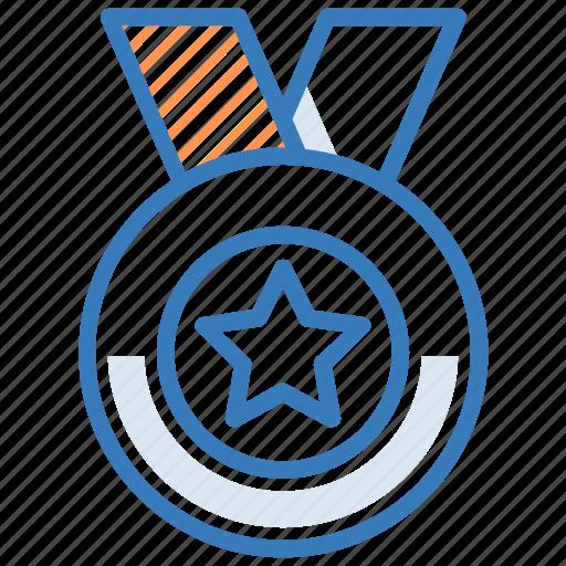 achievement, badge, medal, quality, reward icon