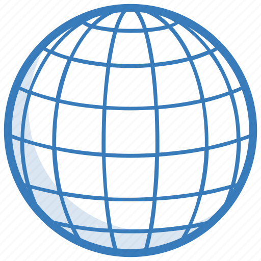 Global coverage, globe, map, planet, world map icon