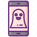 ghosting, ignore, rejection icon