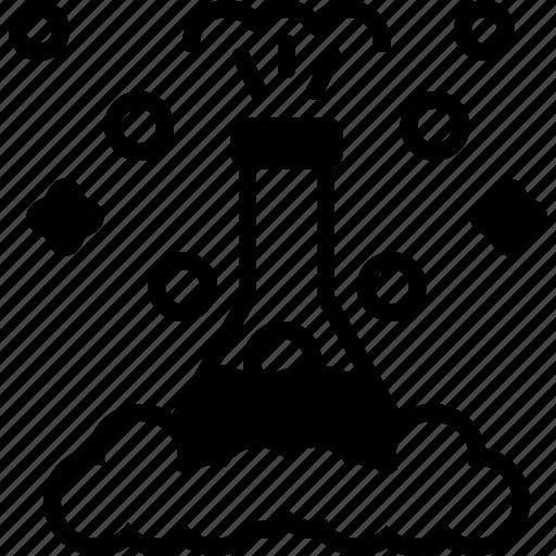beaker, chemistry, experiment, flask, patholology, pharmaceutical, research icon
