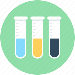 culture tubes, lab test, laboratory, sample tubes, test tubes icon