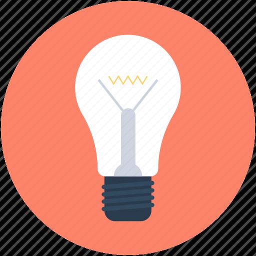 bulb, idea, light, light bulb, luminaire icon