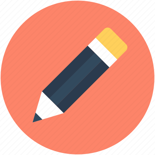 crayon, draw, pencil, stationery, write icon