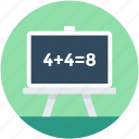 calculation, education, math class, math sum, maths icon