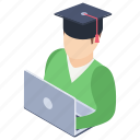 elearning, online education, distance learning, remote education, online student