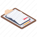 checklist, questionnaire, survey, todo list, worksheet icon