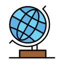 globe, world, office, web