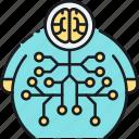 big data, big data technology, data storage, smart data icon