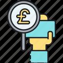 pound, british pound, gbp, £ icon