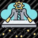cdo, chief data officer icon
