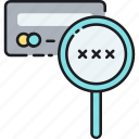 card, credit, cvv, debit icon