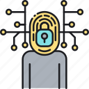 cyber, cyber identification, cyber identity, id, identification, identity, touch id icon