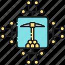 data, data mining, mining, mining data icon