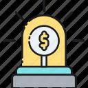 emergency funds, rainy day funds, urgent savings icon