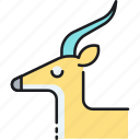 antelope, fast growing, gazelle, high growth company icon