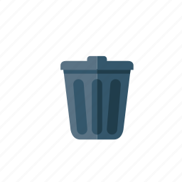 bin, garbage, recycle, recycle bin, trash, waste icon