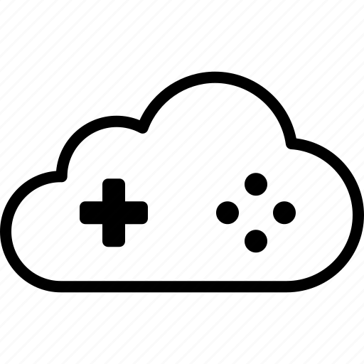 cloud, game, gaming, playstation, service, stream, streaming icon