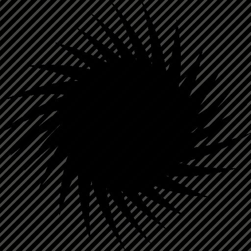 black, hole, singularity, space, travel, worm, wormhole icon