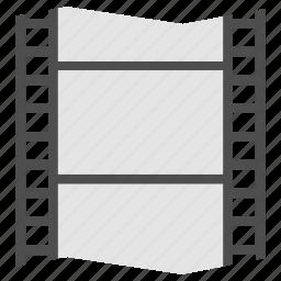 film, frame, motion, video icon