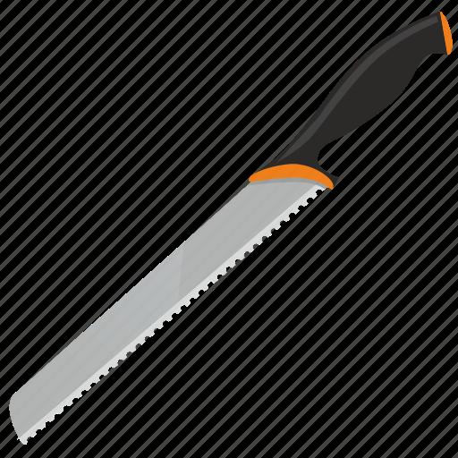 blade, kitchen, knife, saw icon