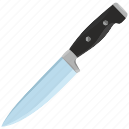 blade, cook, cut, instrument, kitchen, knife, meat icon