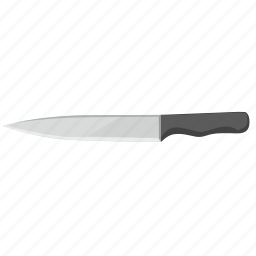 blade, cook, kitchen, knife, meat, steel icon