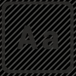 a, alphabet, english, latin, letter icon