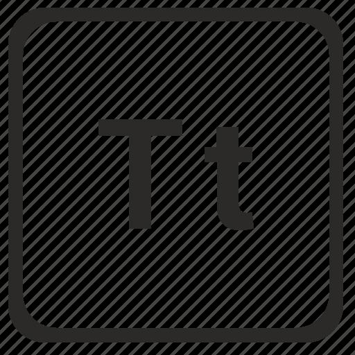 alphabet, english, latin, letter, t icon