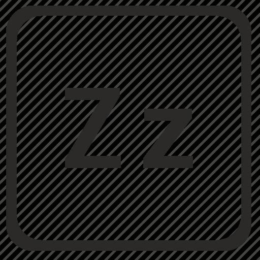 alphabet, english, latin, letter, z icon