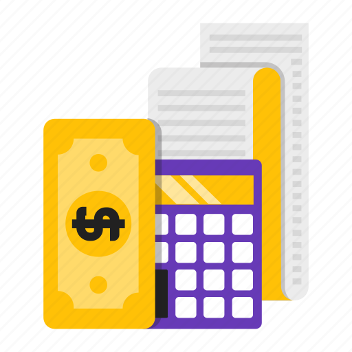 calculation, calculator, financial, money icon