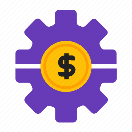 business, coin, making, money icon