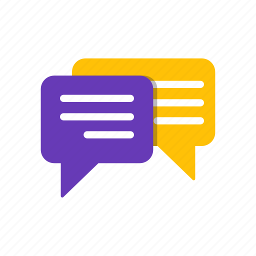 buble, chat, comment, message icon