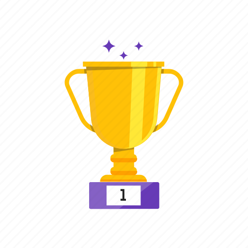 cup, first, place, succes icon