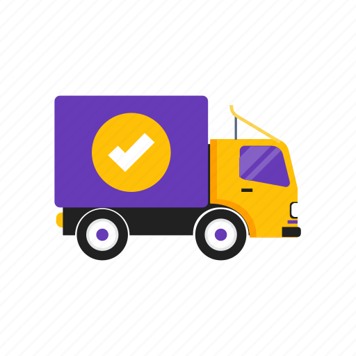 best, delivery, fast, truck icon