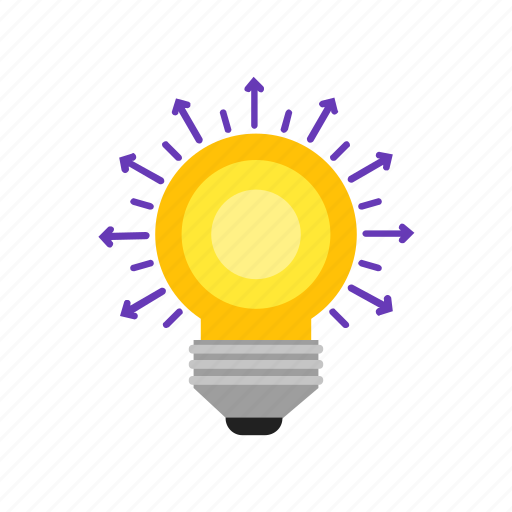 bulb, creative, idea, sharing icon