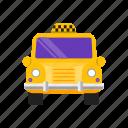 car, fast, hotel, taxi icon