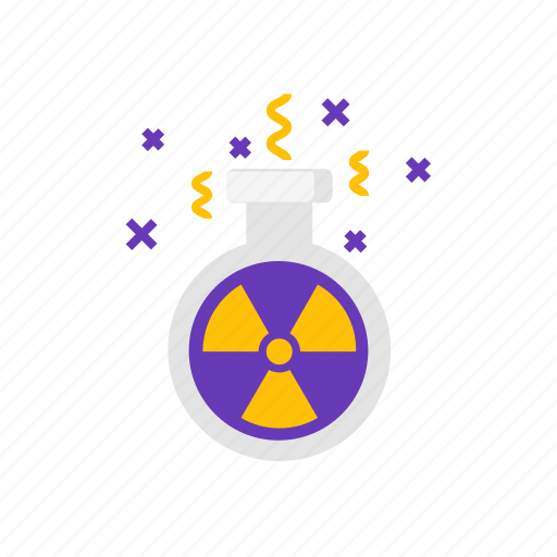 nature, nuclear, power, research icon