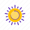 best, energy, renewable, sun icon
