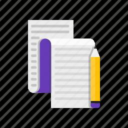 copy, copywriting, pen, pencil icon