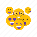 emoji, face, sad, smile icon