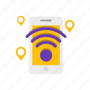 hotspot, phone, web, wifi icon