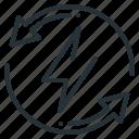 control, efficiency, energy, intelligent, electric, energy efficiency, intelligent energy control icon
