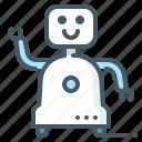 robot, home robot, assistants, home robot assistants icon