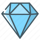 clean code, clean, code, crystal, diamond icon