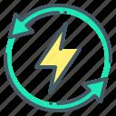 control, efficiency, energy, energy efficiency, intelligent, intelligent energy control icon