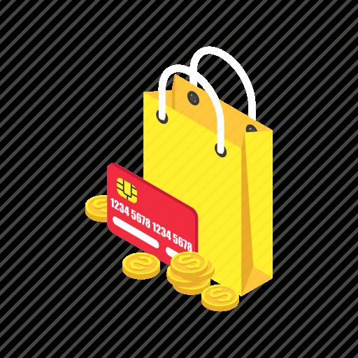 bag, cart, ecommerce, money, shopping icon