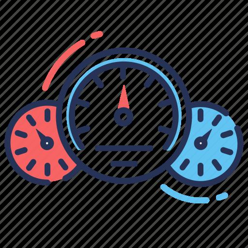 control panel, dashboard, gauge, speedometer icon