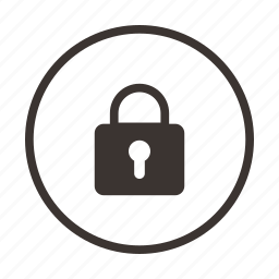 lock, locked, privacy, safe, secure, security icon