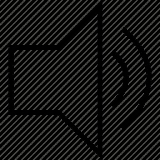 sound, speaker, up, voice, volume icon