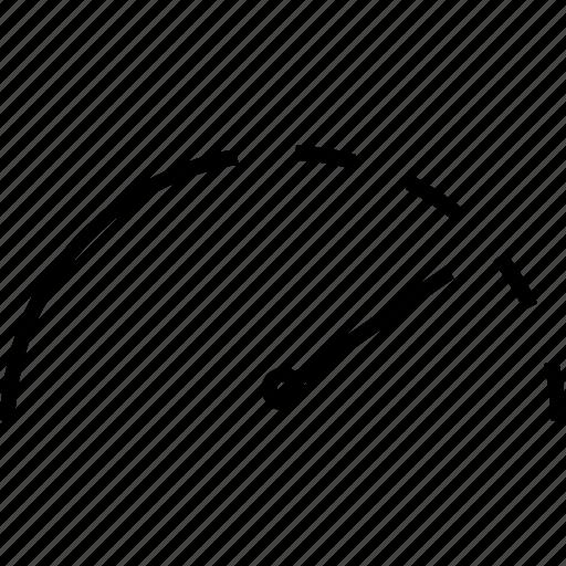 fast, meter, speed, speedometer icon